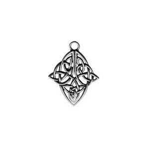 Celtic knotwork diamond for Wealth