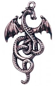 Nidhogg Dragon Pendant