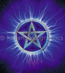 A Pentagram that has absorbed some of the owner's aura