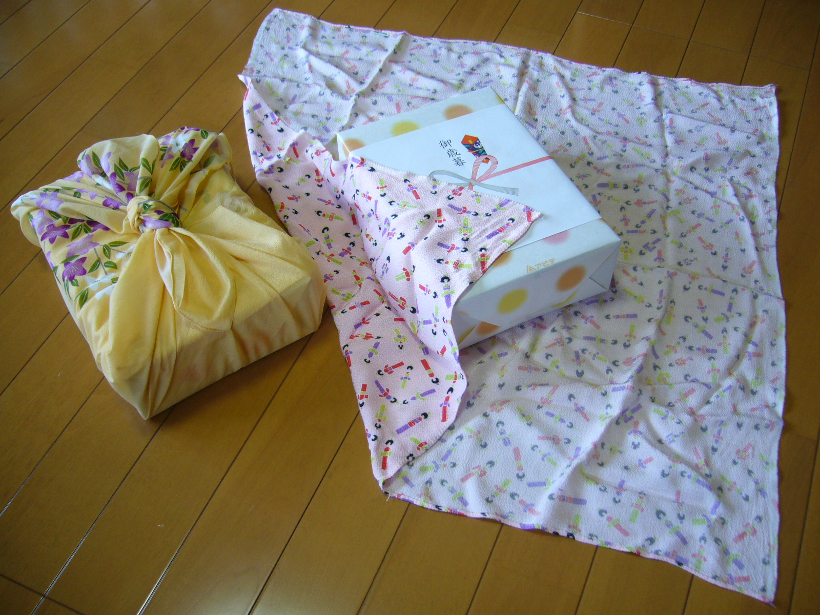 Reusable Gift Wrap Cloth used in Traditional Japanese Gift Giving
