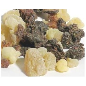Frankincense and Myrrh Tree and Plant Resin