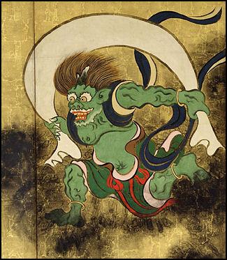 Japanese Thunder God