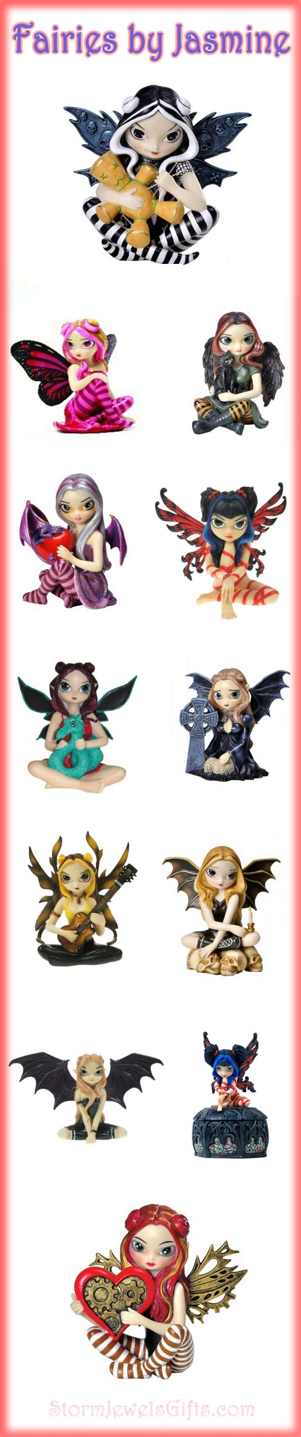 Fairy Figurines by Jasmine