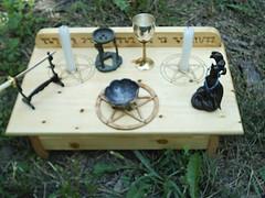 Wicca Pagan Altar