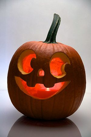 English: Halloween pumpkin.