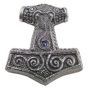 Thors Hammer Replica Pendant - Found in Skane