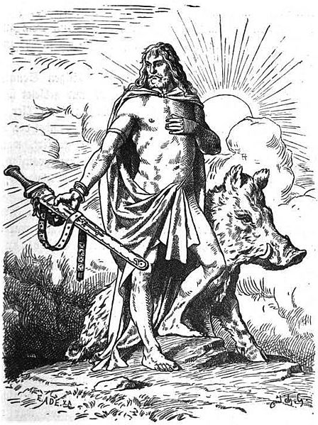 The Viking Vision of Peace and Plenty with God Freyr